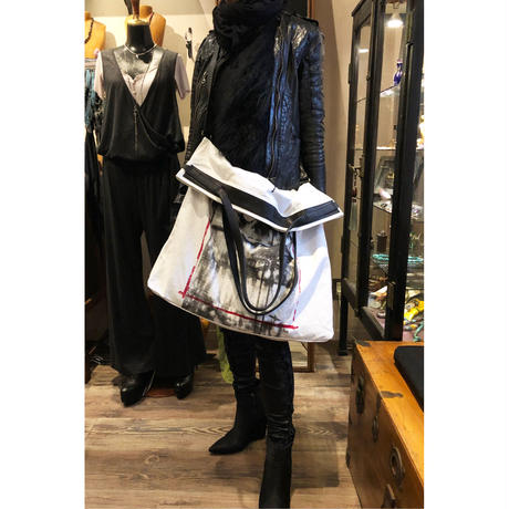 KMRii ・ケムリ・DAYDREAM 2WAY TOTE ・2020モデル・キャンバス トート バッグ