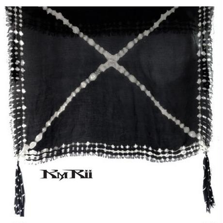 KMRii ・ケムリ・ SQUARE CROSS  STOLE・ストール