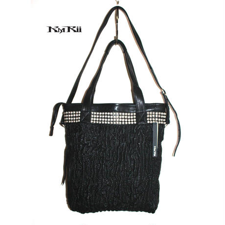 KMRii ・ケムリ・BISMUTH  TOTE BAG ・2021awモデル・レザー トート バッグ