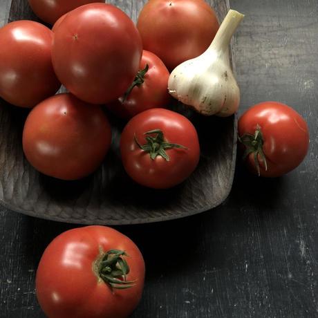 めぐみトマトと新ニンニクセット