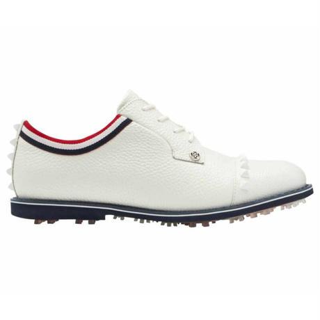 【G/FORE】WOMENS GROSGRAIN STUD CAP TOEガリバンター スパイクレスゴルフシューズ SNOW/072412850