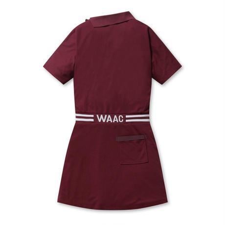 【WAAC】WOMENS ボンディングワンピース ボルドー/072304550