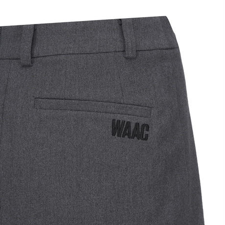 【WAAC】変形フレアスカート グレー/072304358