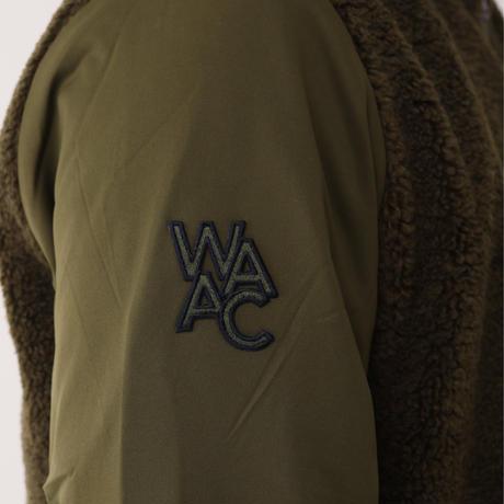【WAAC】MENS 中綿ボアブルゾン カーキ/072304108