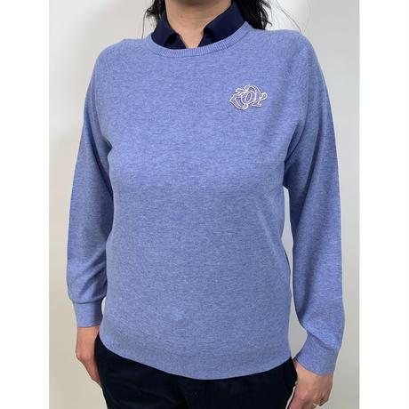 【ZOY】WOMENS FIZROYニットプルオーバー ブルー/071612701