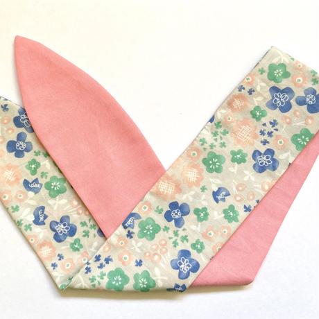 musubu つーとん*ターバン ピンク✖️お花