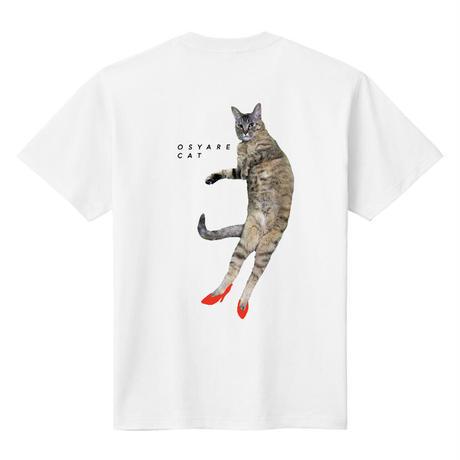 おしゃれキャット Tシャツ  (バックプリントorフロントプリント選べます)