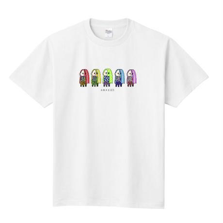 カラフルアマビエーズ Tシャツ