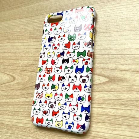 猫猫ちゃんちゃん iPhoneケース