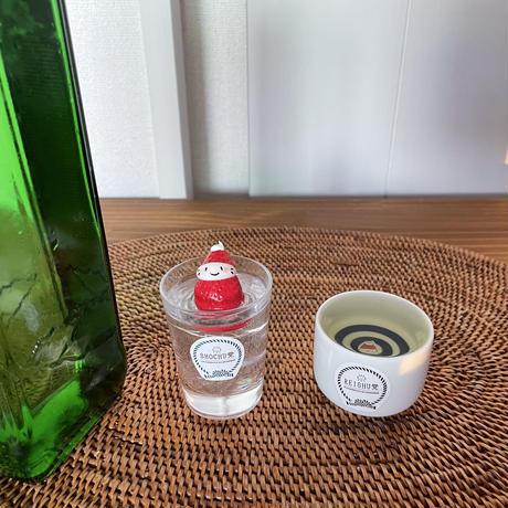苺ぼうやのぐい呑の冷酒|オブジェ