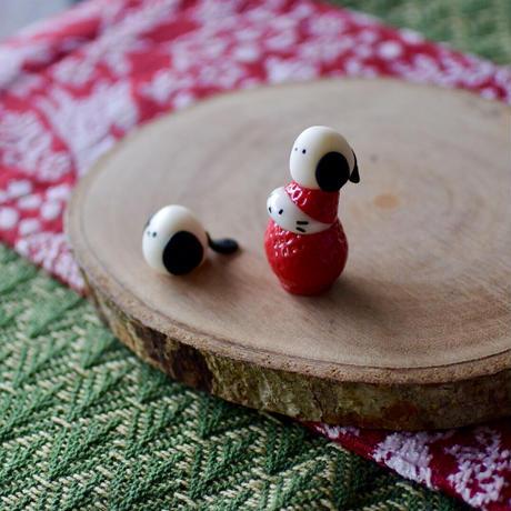 シマエナガちゃんとシマエナガ帽子の苺ぼうや マスコットセット