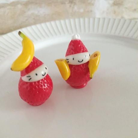 バナナの苺ぼうやマスコット