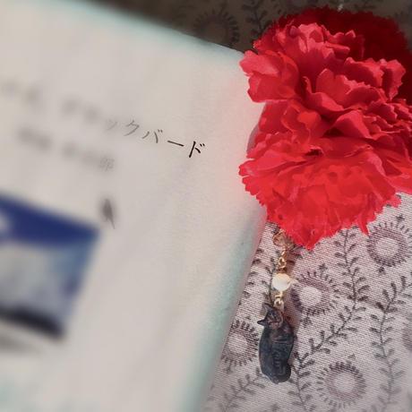 【母の日】カーネーションとうちの子の栞(1〜3匹用・ペット数追加OK)