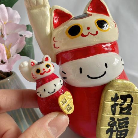 特大|大きな招き猫|右手(招福)・左手(千客万来)