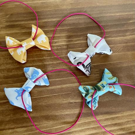 蝶ネクタイ ぬいぐるみのオシャレ