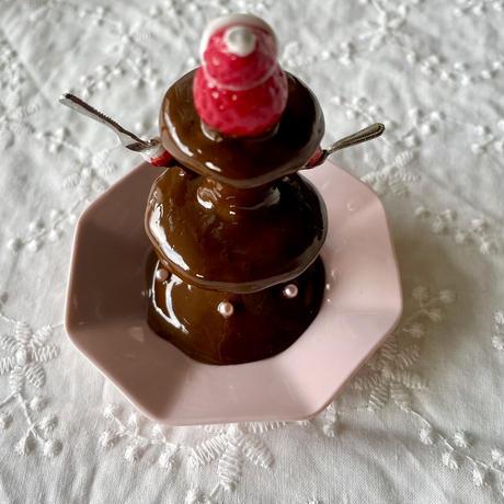 バレンタイン|Sweetなチョコレートファウンテン|オブジェ