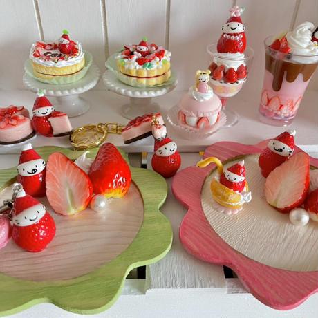 苺祭り|まるごと苺パフェ|オブジェ