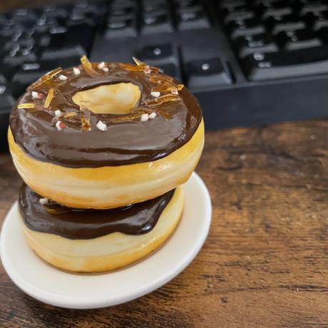 大人ドーナツ|ペンスタンド|机上の空腹