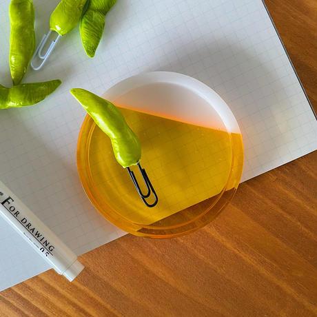 枝豆|クリップ5個セット|机上の空腹