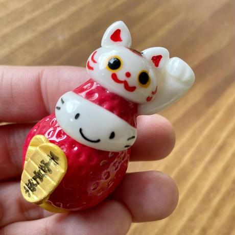 いつもの招き猫(右手・左手)|マスコット