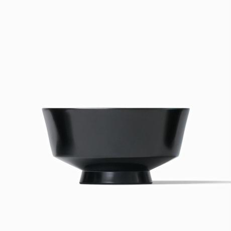 めぐる・水平(花塗り:黒) <単品・中>