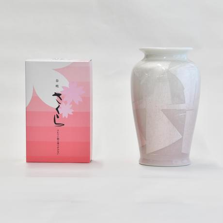 九谷銀彩6号 カメ型ピンク