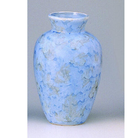 花瓶夏目グリーン 7寸