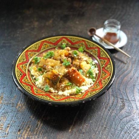 ハルワ食堂:モロッコのクスクススープ