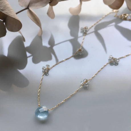 BonBon Aquamarine K10 Necklace