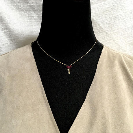 PELO Ruby K10 Necklace