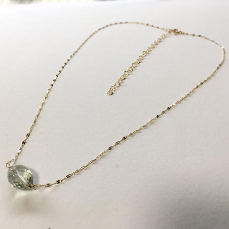 Green Amrthyst K10 Necklace