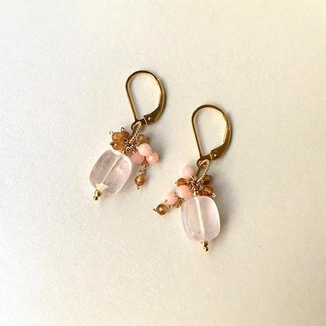 """bouquet pierce & earrings """"PLPB"""""""