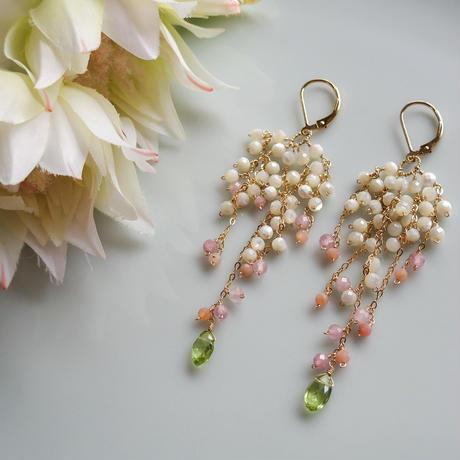 Bouquet Pierce & Earrings -Serruria