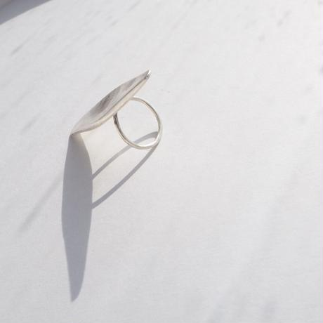 Nyima pure silver ring