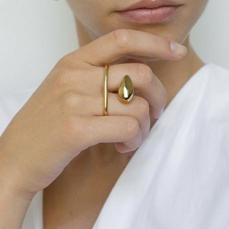 【Mara paris】sense ring(velmeil)