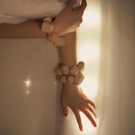 MW ceramic bracelet -TAMAGO-