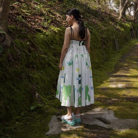 MINJUKIM shirring volume  dress