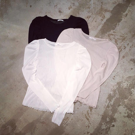 Ondev cotton tulle tops