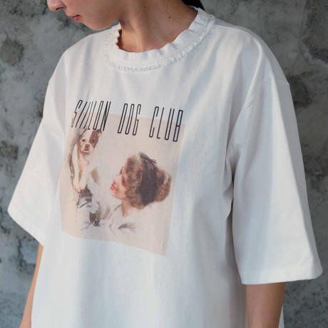 SIIILON -DOG CLUB T-