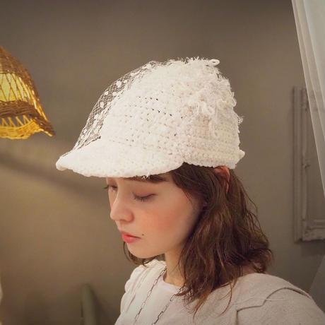 Ondev tulle knit cap