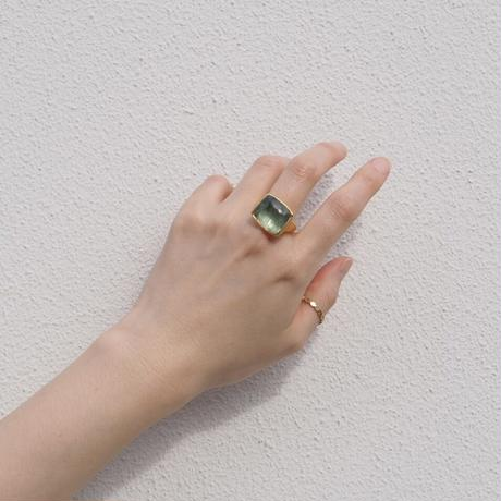 RAM k22 aquamarine ring