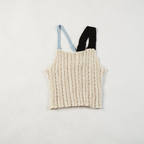MALKA MOMA×ondev rond knit