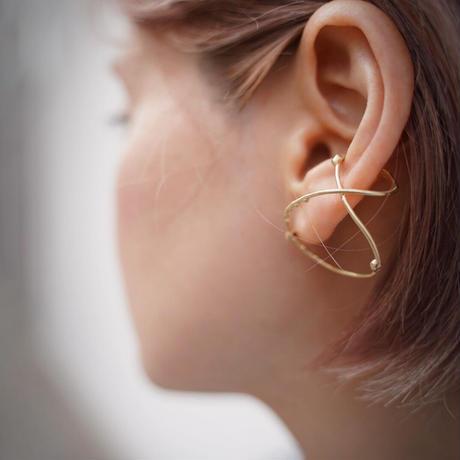Atlica ruby ear cuff
