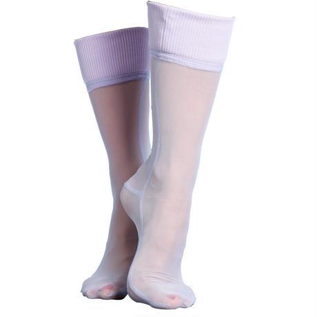 SIMONE WILD net cuff ankle socks