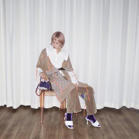 SCOTRIA - BERG BAG W/STRAP - purple × white