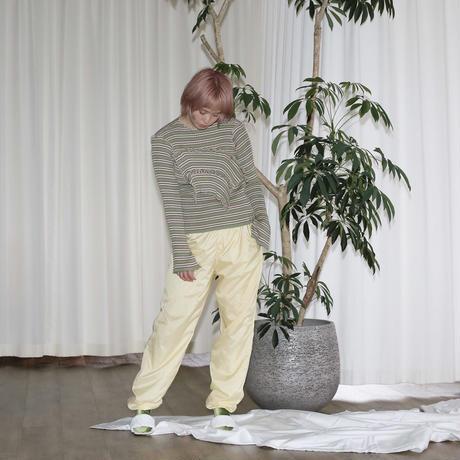 kotohayokozawa long sleeve rib knit