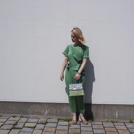 RESPIRO STUDIO - VIRGINIA BAG -green