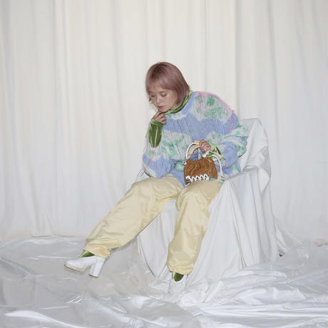SCOTRIA - BERG BAG W/STRAP - brown × white