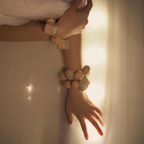 MW ceramic bracelet -TUKI-