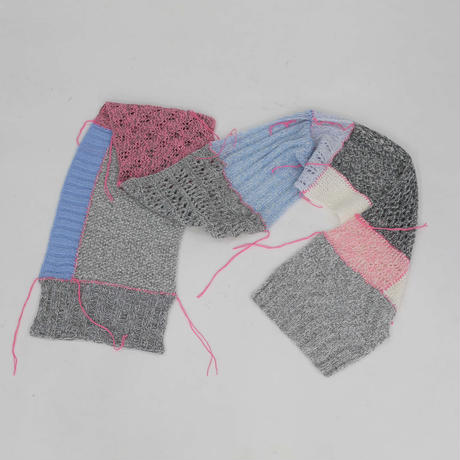UGLY SWEATER CLUB - BONKERS - knit stole
